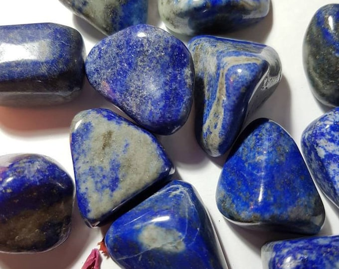 Large Lapis Lazuli tumble stone - Third Eye Chakra - Tumble stone - Lapis Lazuli