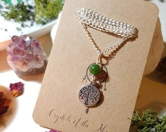 Tree of life Jade necklace