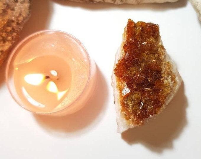Large Citrine cluster - Happiness - Citrine - Crystal cluster - Prosperity