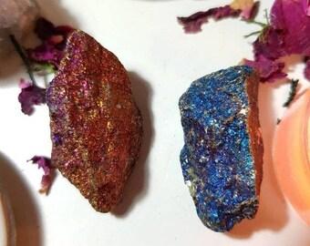 Raw natural Peacock Ore