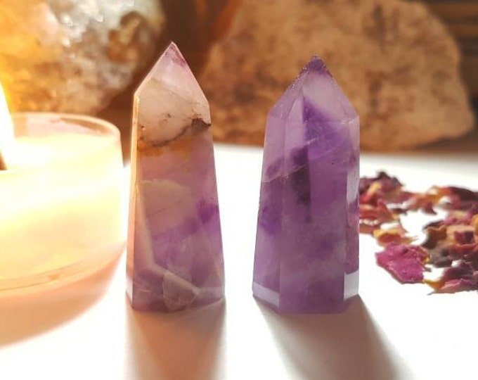 Small Amethyst point - Protection - Single terminated Amethyst