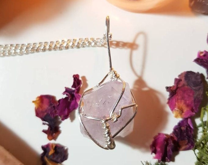 Amethyst From Shirdi, India necklace