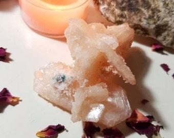 Stilbite cluster - Rare crystals - Stilbite - Crystal cluster