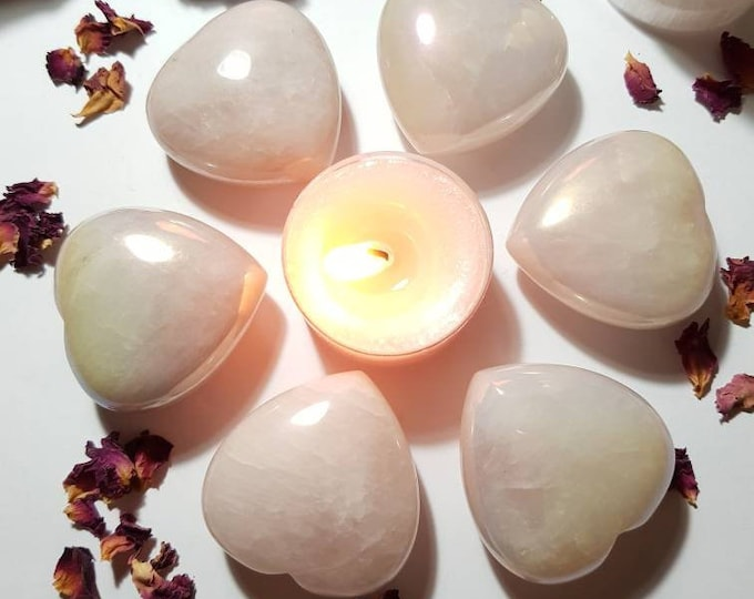 Featured listing image: Rose Quartz Aura heart - Comfort - Up lifts Mood