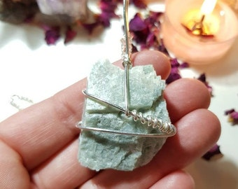 Pale Amazonite necklace