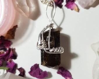 Dravite / Brown Tourmaline necklace