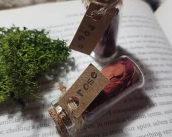 Magical herbvial of Rose