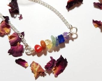 Chakra necklace - Buddha necklace - Bohemian - Chakra balancing