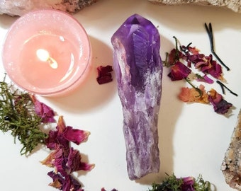 Amethyst wand from Brazil
