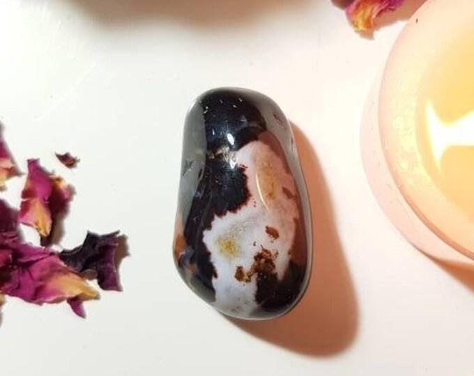 Suleiman stone - Yin and yang - Balancing crystal - Rare crystals