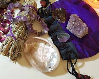 Crystal starter pouch