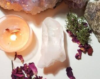 Himalayan Lemurian quartz crystal from the Kullu Valley, Himaschal Pradesh, India