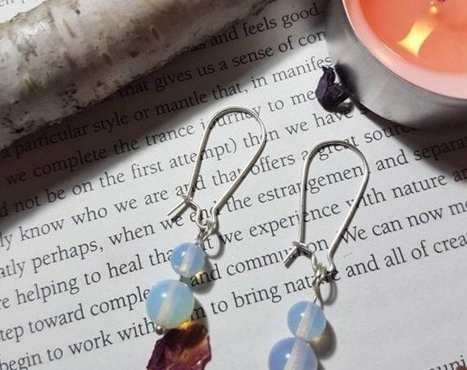 Opalite earrings