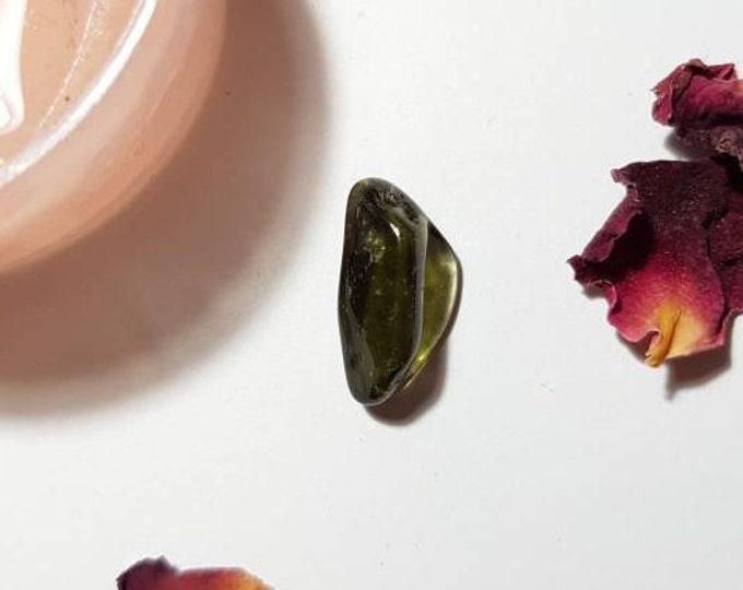 Small tumbled Moldavite - Moldavite piece - Moldavite