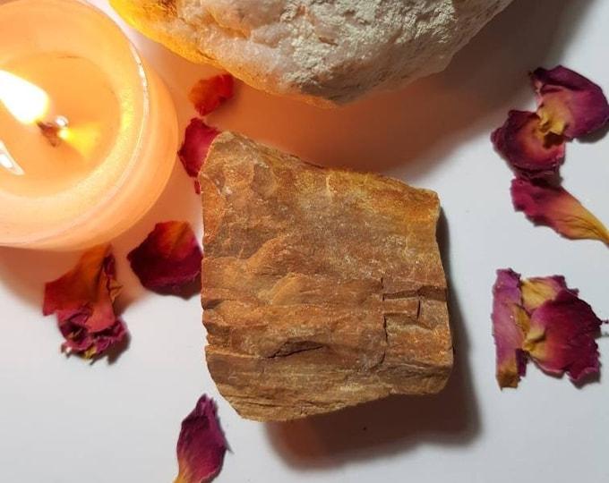 Raw Fossilized Wood - Agatized Wood - Petrified Wood - Raw crystals - Meditation