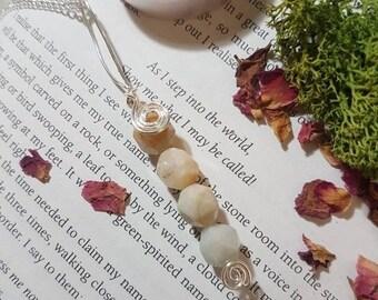 Pale Amazonite necklace