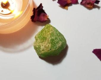 Peridot - Raw crystals - Rare crystals - Raw Peridot - Crystals for confidence - Heart Chakra