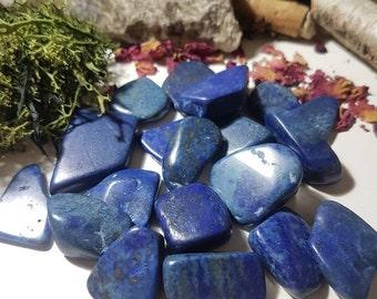 Small Lapis Lazuli tumble stone - Third Eye Chakra - Tumble stone - Lapis Lazuli