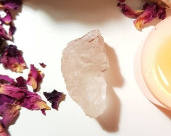 Pink Nirvana Quartz - Ice Quartz -Rare crystals - High energy