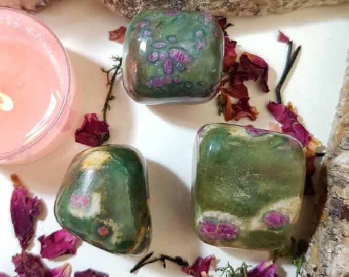 Ruby in Kyanite and Fuchsite ~ Watermelon Rubies