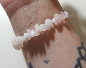 Morganite bracelet - Crystal bracelet - Morganite - Divine light - Heart Chakra