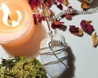 Orbicular Agate necklace