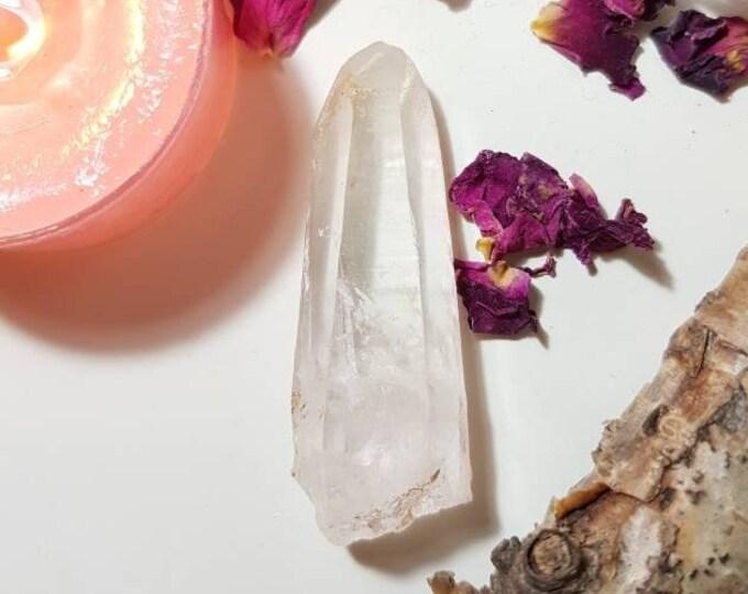 Himalayan Lemurian seed quartz crystal from the Kullu Valley, Himaschal Pradesh, India