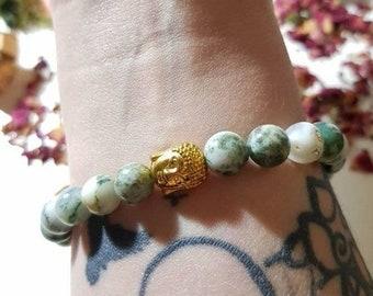 Buddha Tree Agate bracelet