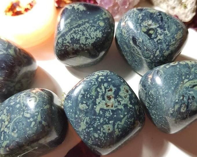 Extra large Kambala Jasper tumble stone