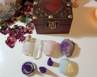 Crystal starter box