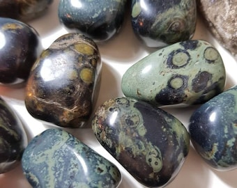 Kambala Jasper tumble stone