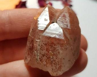 Large Chinese Fire Quartz - Fire Quartz - Red Quartz - Rare crystals
