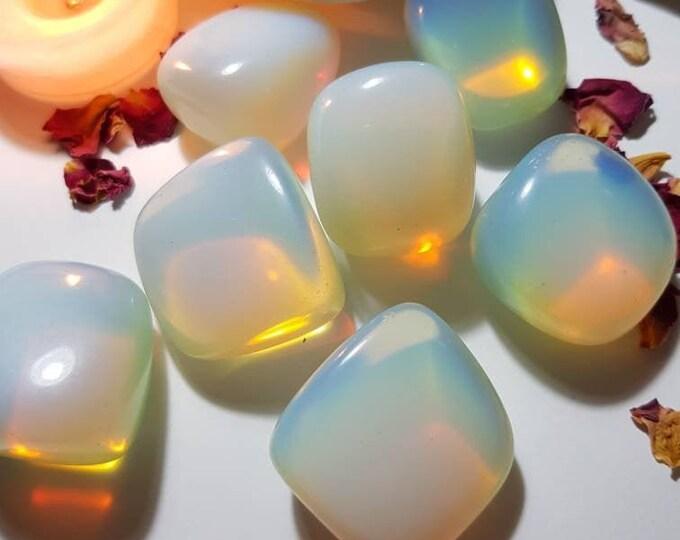 Large Opalite tumble stone - Tumble stones - Opalite