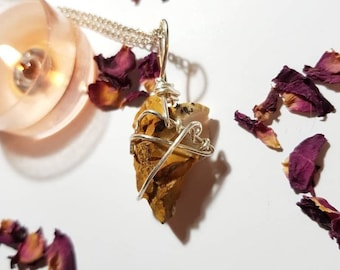 Mookaite necklace - Mookaite - Crystals for confidence - Crystal necklace