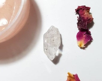 Small Sichuan Quartz with rainbow - Double terminated Quartz - Sichuan Quartz crystal