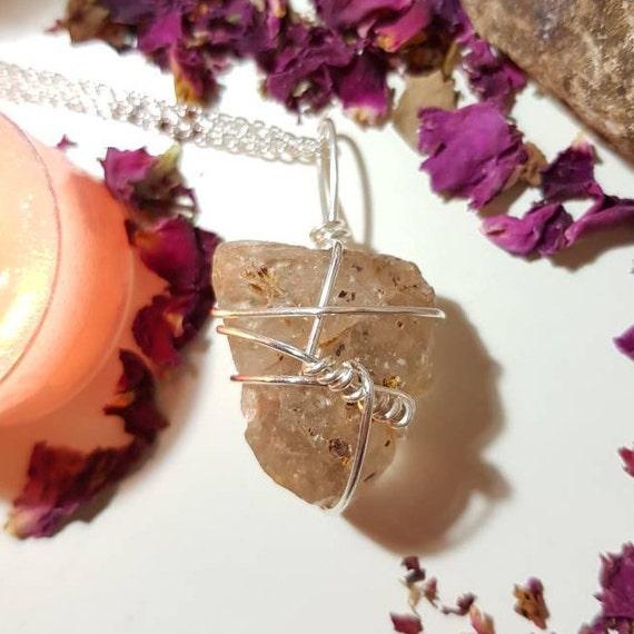 Fenster Smoky Quartz necklace