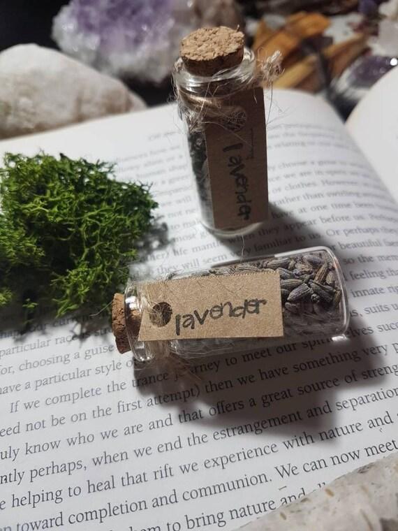 Magical herbvial of Lavender
