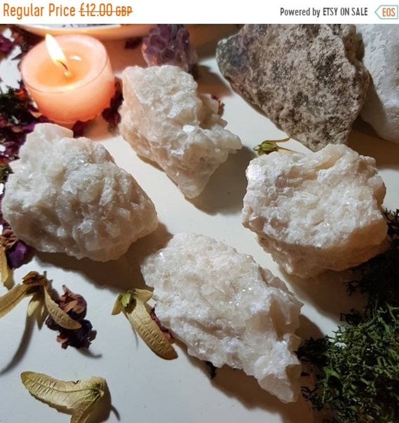 25% OFF Large Champagne Calcite in Quartz cluster  Crystal image 0