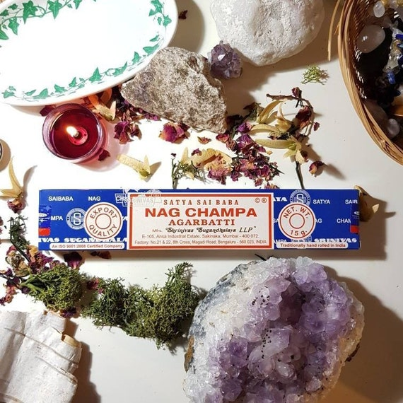 Box of fourteen Satya Nag Champa Incense sticks