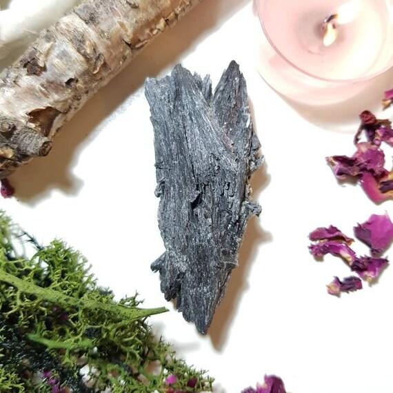 Black Kyanite from Brazil