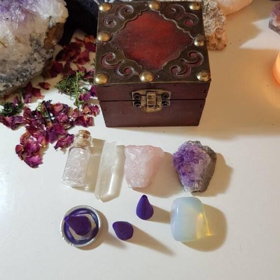 Crystal starter box