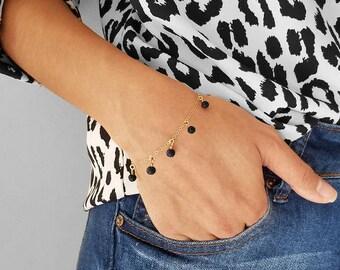 LAVELLA Bracelet   Lava Essential Oil Diffusing Bracelet- aromatherapy jewelry,grounding stone,therapeutic calming bead beaded bracelets