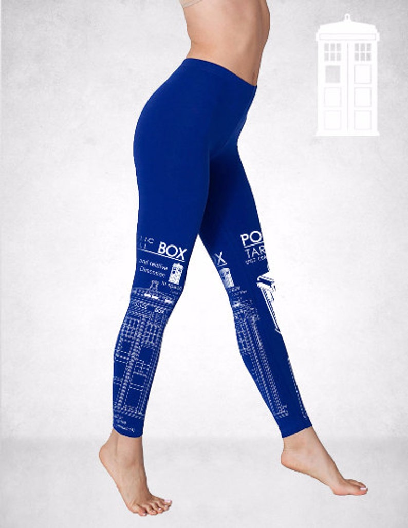 Tardis Box Doctor Who leggings image 0