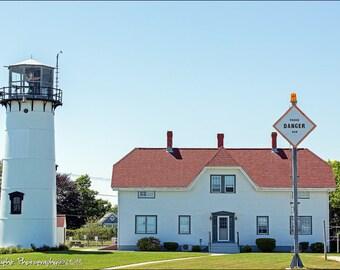 Chatham Lighthouse Cape Cod Landscape 12x18 Fine Art Print