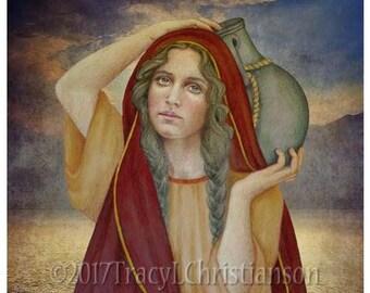 St. Photina Art Print, the Samaritan woman  #4287