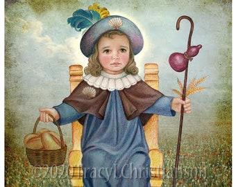 The Holy Child of Atocha (Santo Niño de Atocha) Catholic Art Print