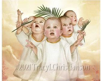 The Holy Innocents Art Print/Picture Catholic Patron Saint of infants