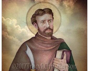 St. Bartholomew, Catholic Art Print #4309