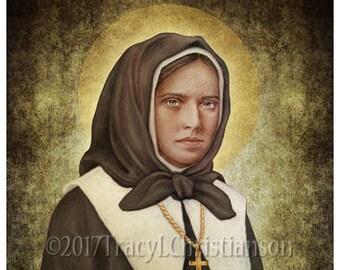 St. Marguerite Bourgeoys Art Print Catholic  #4325