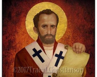 St. John Chrysostom Print, Catholic Art #4317